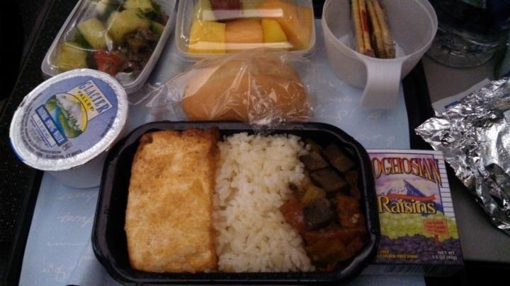 """""""Vegan meal"""" on Aer Lingus, July 31st"""