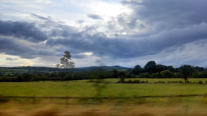 On the road to Donegal