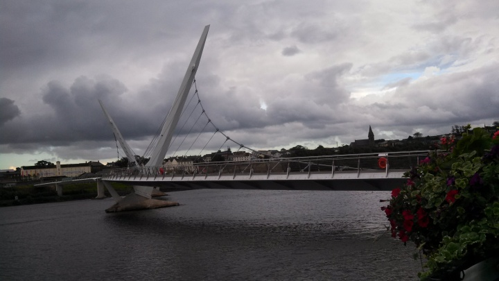 The Peace Bridge, Derry, August 2nd
