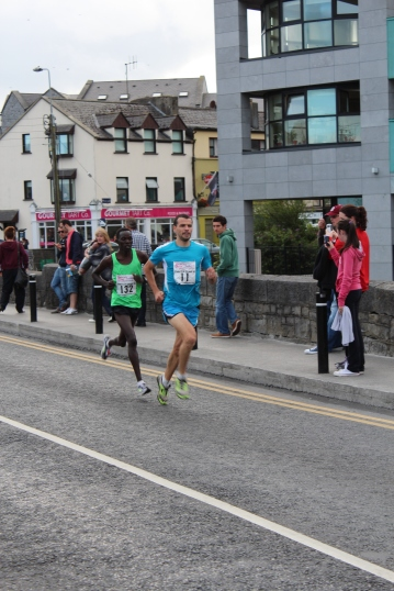Start of the Streets of Galway 8k, August 10th